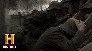 Life in a Trench   World War I   History