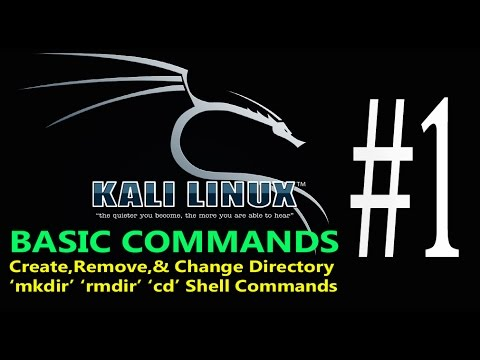 01-Kali Linux Command Line tutorial Create Remove Change Directory mkdir-rmdir-cd Command HINDI/URDU