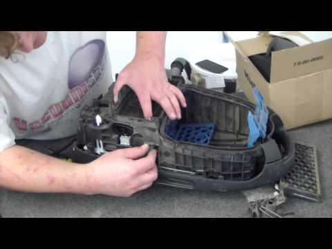 How do I change the cord retract on a Miele S5211?