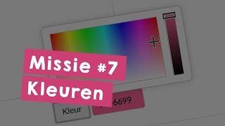 Missie 7: Kleuren - Programmeer je eigen website in HTML