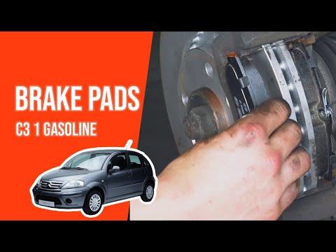 [ TUTORIAL GASOLINE CITROËN C3 ] How to change brake pads