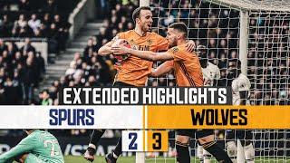 JIMENEZ COMPLETES THE TURNAROUND! | Tottenham Hotspur 2-3 Wolves | Extended highlights