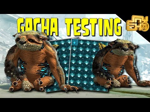 ARK GACHA TESTING - HOW TO GET THE BEST GACHA LOOT