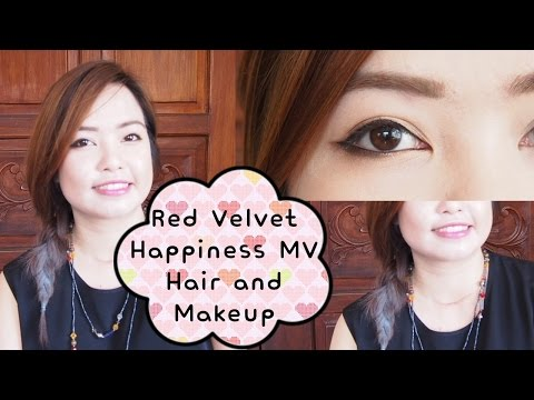 Red Velvet 레드벨벳 Happiness 행복 MV Hair and Makeup