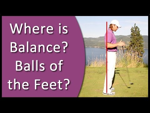 Golf for Beginners - Weight Distribution in the Golf Setup (RST - #1 Golf Instruction System)