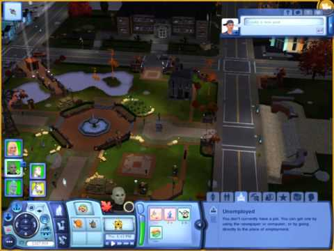 The Sims 3 Invadeing The Town Park