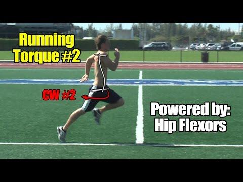 Running Speed Torque #2 - Powered by Hip Flexor Muscles - Thigh Flexors to Help You Run Faster