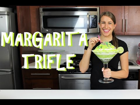 Boozy Margarita Trifle Cake | CHELSWEETS