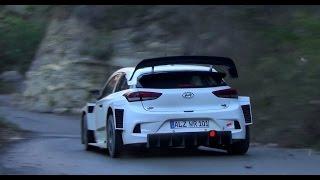 Test Essai Rallye Monte Carlo 2017 Hyundai i20 2017