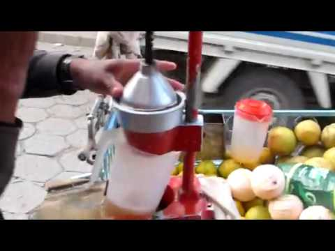 Street Side Freshly Squeezed Grapefruit Juice