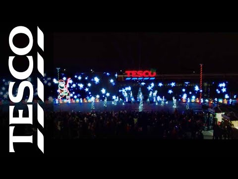 The Wigan Light Show | Tesco Christmas 2014