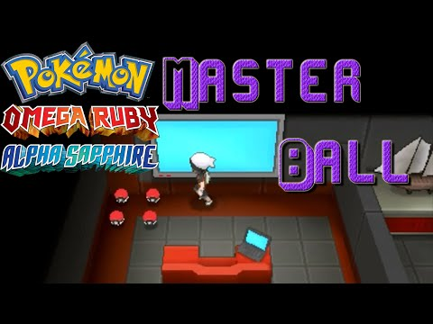 Getting a Masterball ORAS