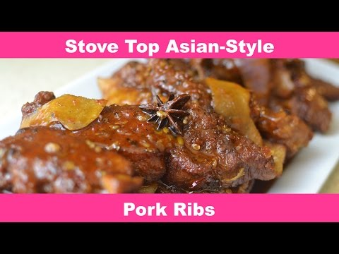 How To Make Asian-Style Stove Top Pork Ribs My Way