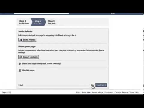 Start A Blog Series - How to create a facebook fanpage.mp4