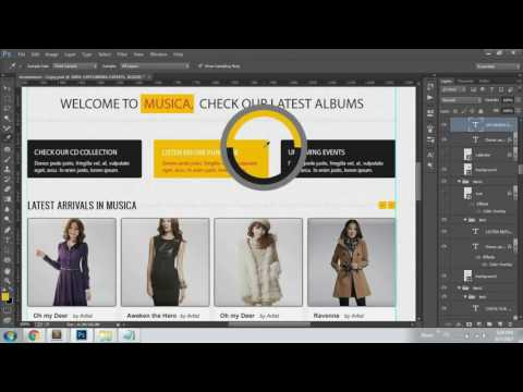 How to Create Ecommerce Website HTML CSS with Slider Part 3