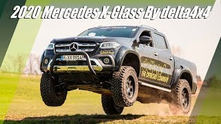 2020 Mercedes X Class Tuned By delta4x4