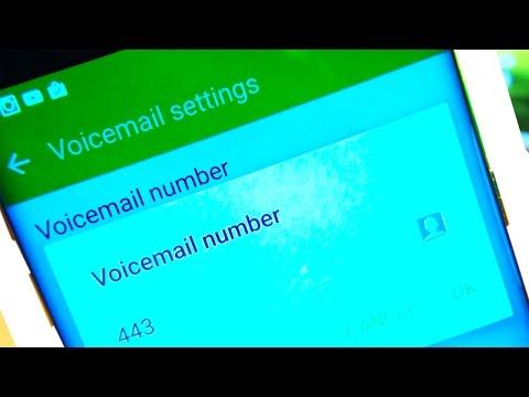 Samsung Galaxy S7 /S7 Edge Voicemail Setup