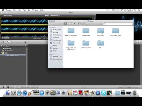 How to put a song on Youtube using iMovie