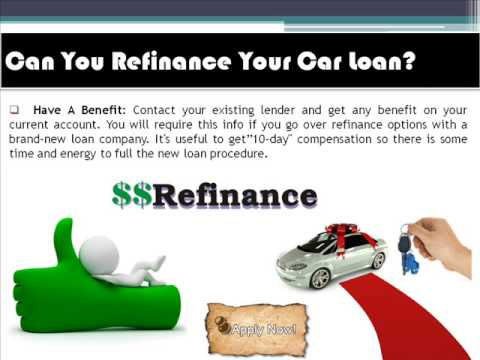 Can You Refinance Your Car With No Money Down