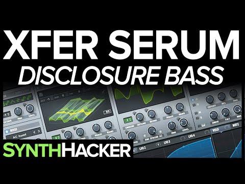 Serum Tutorial - Disclosure 'Boss' House Bass