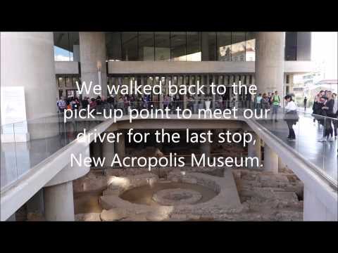 Day in Athens Part 3 - Kotoli Greek Restaurant, New Acropolis Museum