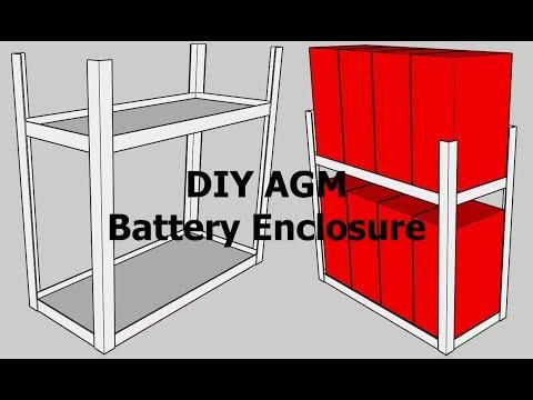Cheap AGM Battery Holder!
