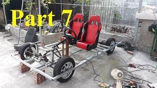 Homemade Lamborghini car part 7 - Car driving system