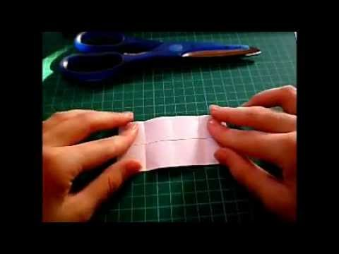 Origami lesson: Square prism..!