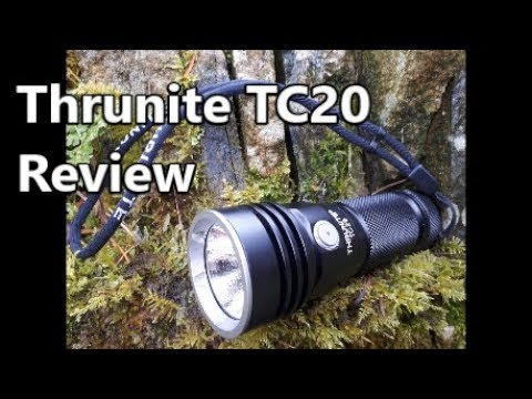 LET THERE BE LIGHT!!...and there was the Thrunite TC20