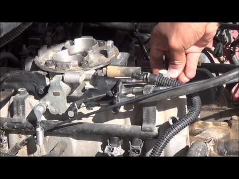 Removing throttle body linkages (1993-2003 Dodge)