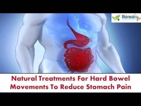 Natural Treatments For Hard Bowel Movements To Reduce Stomach Pain