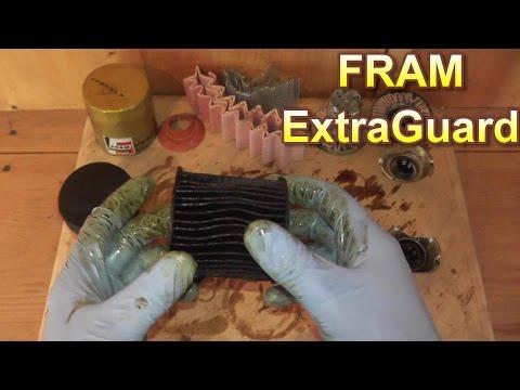 Fram ExtraGuard Oil Filter Review After 6295 Miles