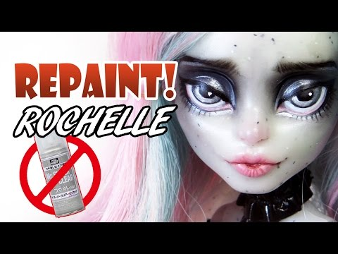 Repaint! Haunted Rochelle NO MR SUPER CLEAR Matte Varnish Face Up