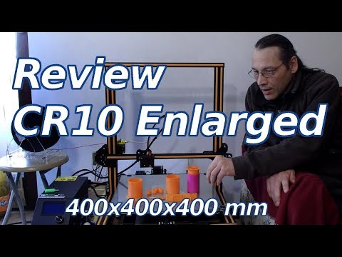 Creality3D CR10 Enlarged Hardware Review - Sub EN