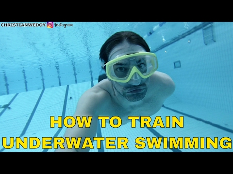 How to swim longer underwater - 10 minute dynamic apnea training session