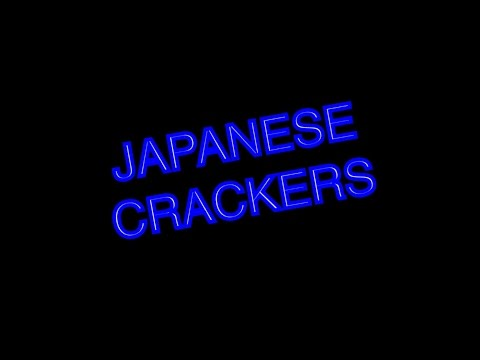 TRYING JAPAN CRACKERS?