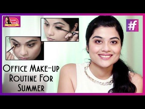 Summer Office Makeup Tutorial   By Mehak