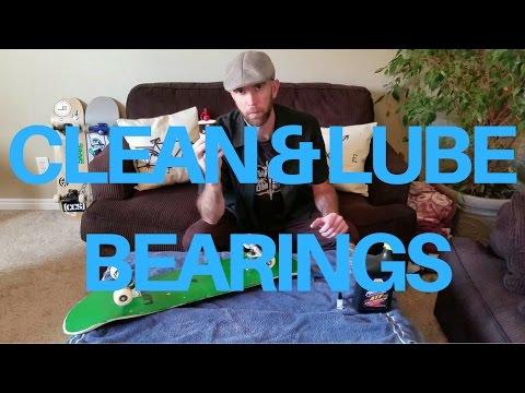 Clean & Lubricate Skateboard Bearings with Household Items