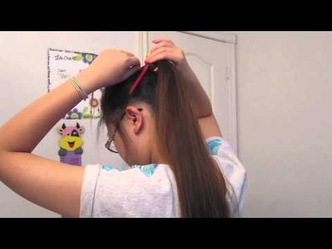 5 Quick And Easy Ponytails   Athletes Must Watch!
