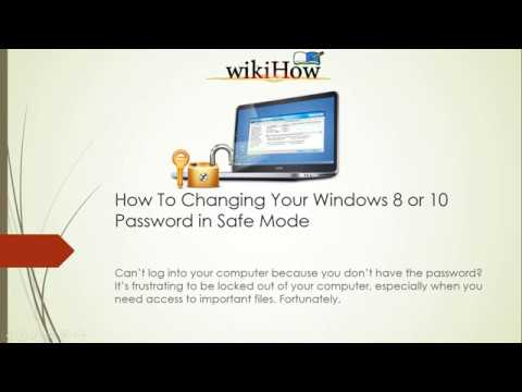how to Change Your Windows 8 or 10 Password in Safe Mode