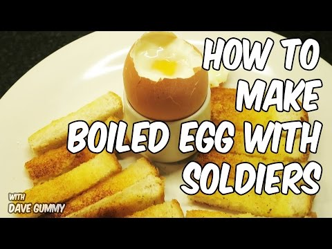 Perfect Breakfasts:  Boiled Egg with Toasted Soldiers LOVELY