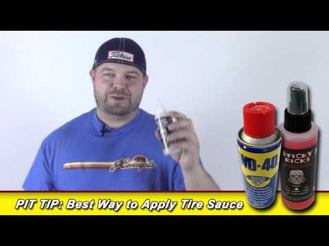 Pit Tip: Which Tire Sauce I Prefer and How I Apply It!