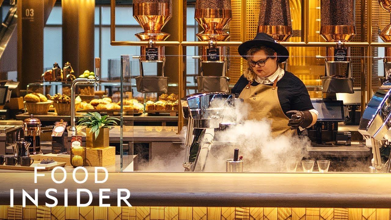 The World's Biggest Starbucks Just Opened In Chicago | Line Around The Block