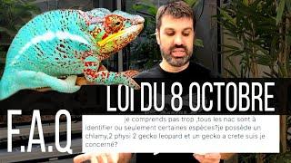 Faq : Nouvelle Loi Pour Les Reptiles & Amphibiens - Tout Ce Qu&'il Faut Savoir #2