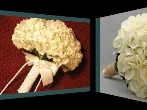 White Hydrangea Bouquet | Set Of Beautiful Flower Pictures
