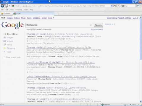 My Name Occupies 7 Listings On First Page Google Ranking