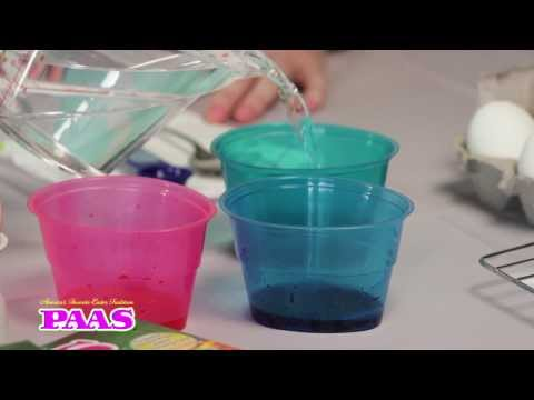 How to Dye Easter Eggs with PAAS®