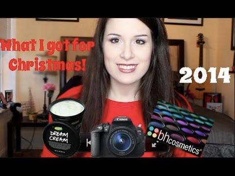 What I Got for Christmas! 2014 Lush / BH Comsmetics Review
