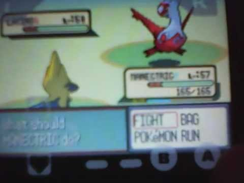 Southern Island code CATCH LATIAS 100% (Pokemon Ruby)