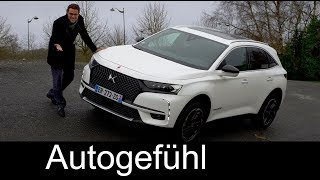 DS7 Crossback FULL REVIEW Performance Line + Plugin-Hybrid driving all-new SUV  - Autogefühl